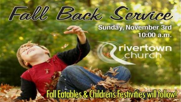 Fall Back Service 2013