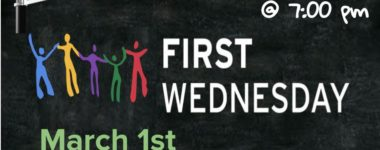 First Wednesday Service at 7 pm