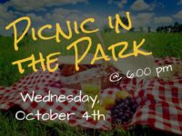 First Wednesday: Picnic in the Park