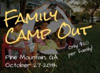Family Camp Out: October 27-28th