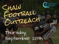 Shaw Football Outreach: September 28th