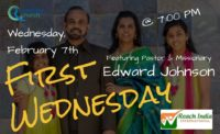 First Wednesday: February 7th at 7:00 pm