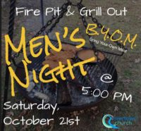 Men's Night: Saturday, October 21st
